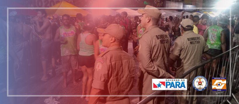 BOMBEIROS INTENSIFICAM TRABALHOS PREVENTIVOS DURANTE O CARNAVAL