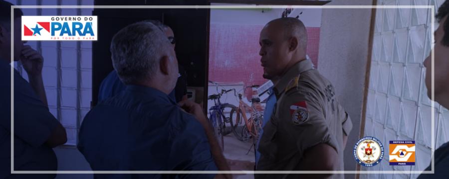 COMANDANTE GERAL DO CBMPA VISITA HOSPITAL REGIONAL DE ITAITUBA