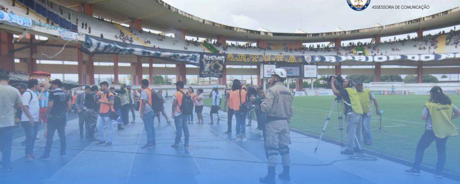 BOMBEIROS GARANTEM TRANQUILIDADE NO SEGUNDO RE X PA DO ANO