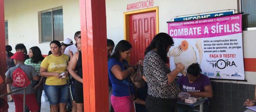 Programa Escola da Vida Santarém realiza 1ª Ação Social de Saúde