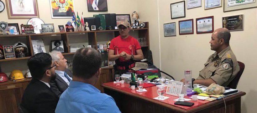 Membros da OAB visitam 4º Grupamento de Bombeiros Militar