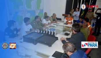 Governador Helder Barbalho reune com equipe tecnica