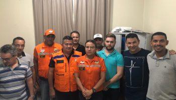 Técnicos da Defesa Civil Estadual auxiliaram o município de Capitão Poço após fortes chuvas