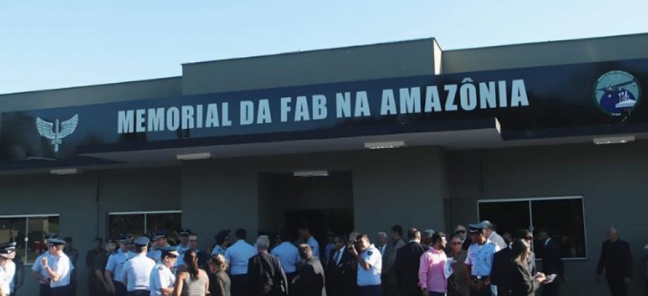 CBMPA PARTICIPA DA INAUGURAÇÃO  DO MEMORIAL DA FAB