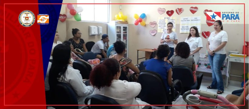 BOMBEIROS PARTICIPAM DE EVENTOS ALUSIVOS À SEMANA ESTADUAL DE LEITE MATERNO