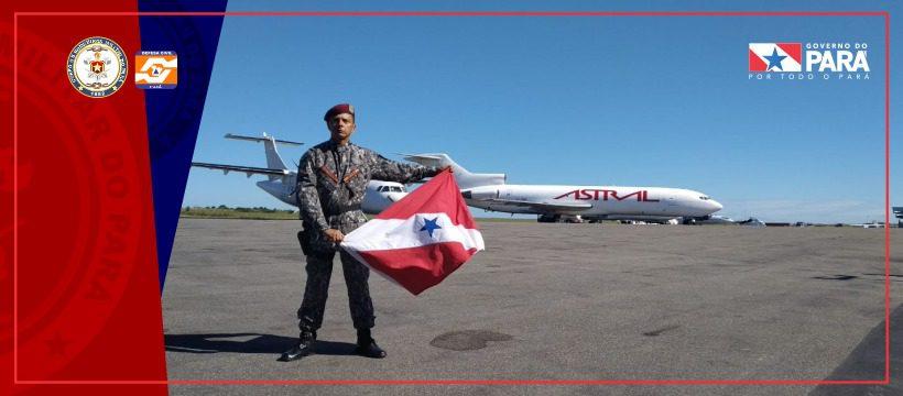 Bombeiro Militar atua na ajuda humanitária em Moçambique