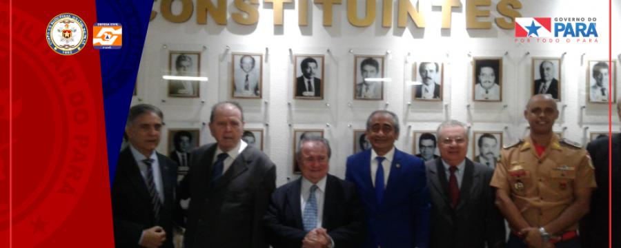 CBMPA PARTICIPA NA ALEPA DA CELEBRAÇÃO DOS 30 ANOS DA CONSTITUIÇÃO PARAENSE