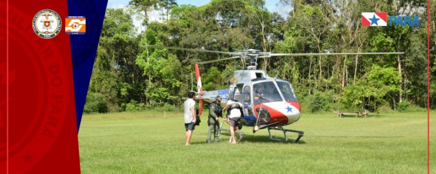Resgate vindo do município de Muaná (Ilha do Marajó) até Belém