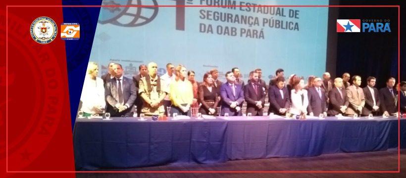 CBMPA participa de debate sobre segurança pública promovido pela OAB
