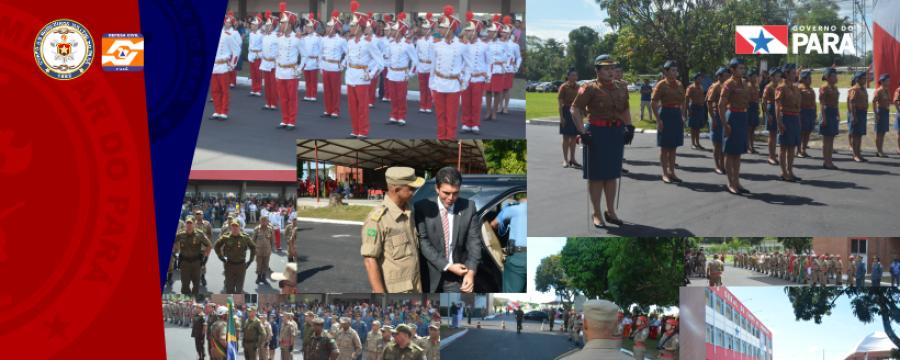 Solenidade Cívico Militar alusiva ao Dia Nacional dos Bombeiros (2 de julho)