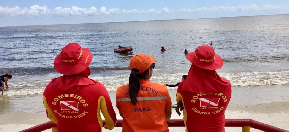 DEFESA CIVIL ESTADUAL PRESENTE NA OPERAÇÃO VERÃO  NA PAZ 2019