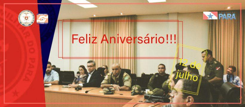 Corpo de Bombeiros parabeniza o Comandante Geral pelo seu aniversário