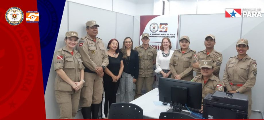 Serviços do Corpo de Bombeiros são disponibilizados na Estação Cidadania Metrópole Ananindeua