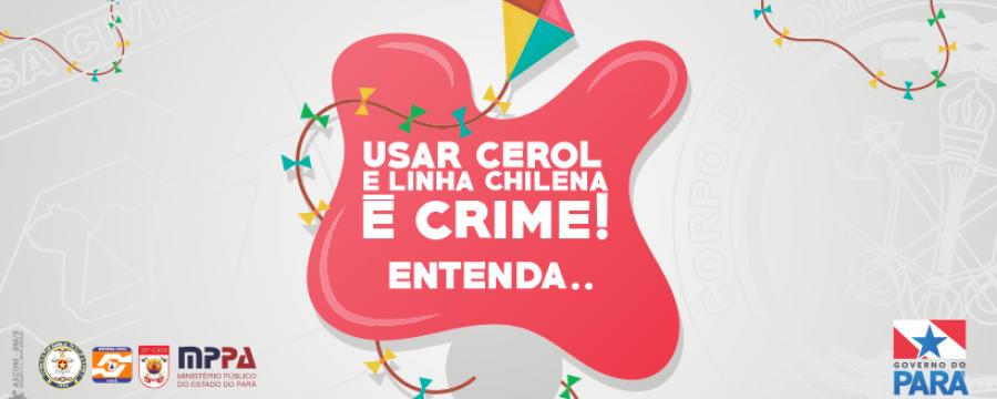 USAR CEROL E LINHA CHILENA É CRIME!