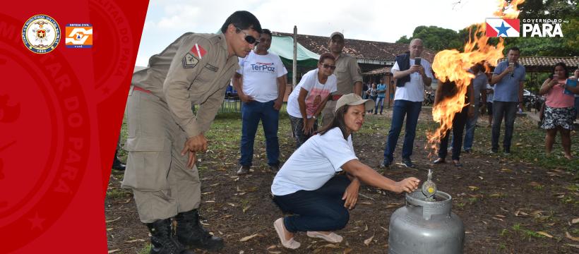 Corpo de Bombeiros Militar participa do Programa Território pela Paz na Cabanagem