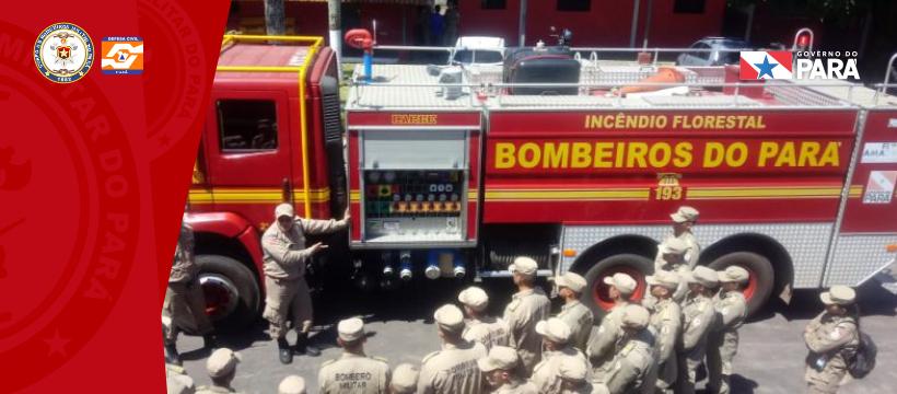 Cadetes do 3º ano do Curso de Formação de Oficiais (CFO) realizam visita à cidade de Castanhal