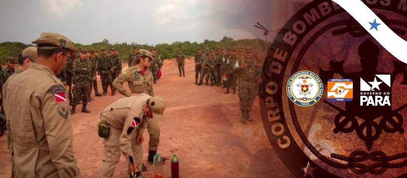 Corpo de Bombeiros intensifica capacitação a militares em Castanhal