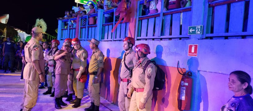 Corpo de Bombeiros de Santarém realiza prevenção durante o 25° FESTRIBAL