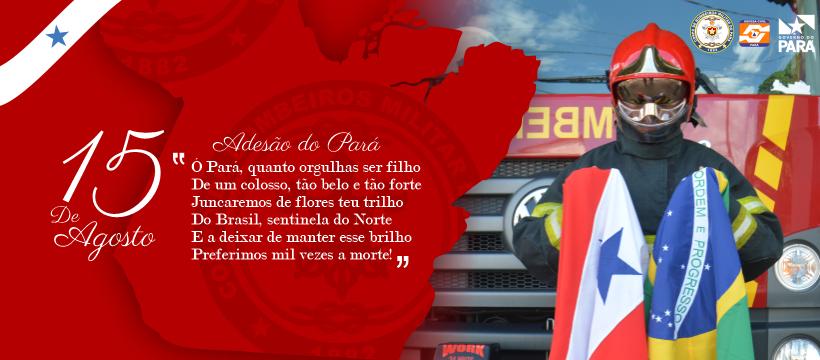 CBMPA HOMENAGEIA A ADESÃO DO PARÁ À INDEPENDÊNCIA DO BRASIL