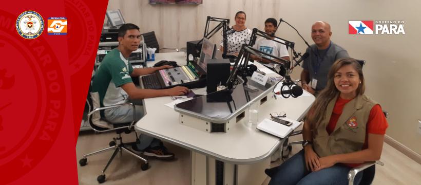 Coordenadora do Projeto Bombeiros da Vida visita Rádio Nazaré