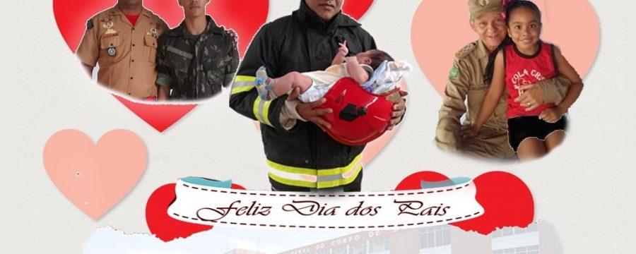 O Corpo de Bombeiros Militar do Pará deseja a todos um feliz Dia dos Pais! 👨👨👦👨🚒🚒