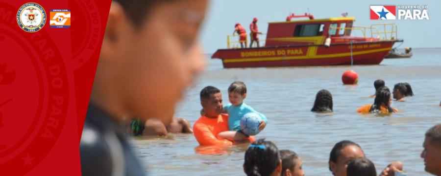 Corpo de Bombeiros atua no último fim de semana da Operação Verão 2019