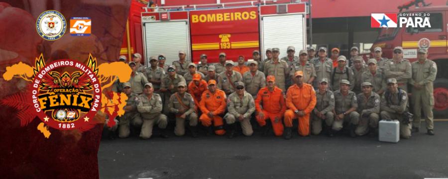 """Corpo de Bombeiros lança """"Operação Fênix: Combate às queimadas no estado do Pará"""""""