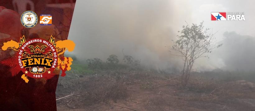 Focos de incêndio em Eldorado dos Carajás