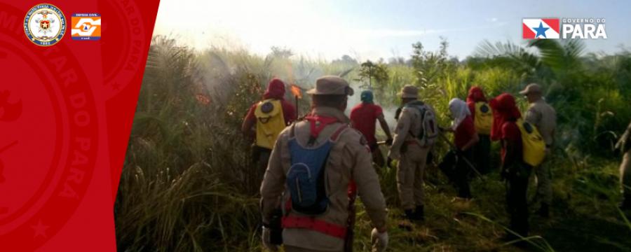 Corpo de Bombeiros intensifica alertas para queimadas em período de Verão Amazônico