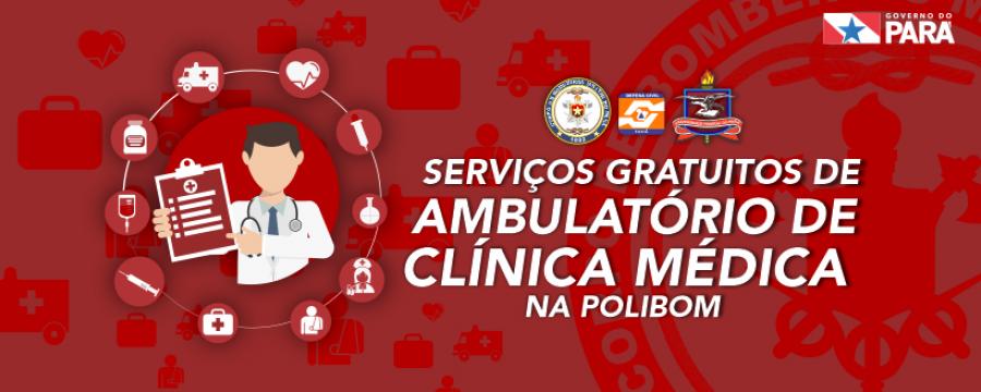 POLIBOM inicia atendimentos de clínica médica no Comando Geral