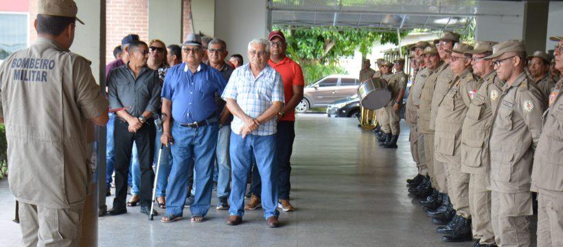 FORMATURA ESPECIAL ALUSIVA AOS MILITARES QUE PASSARAM PARA RESERVA REMUNERADA
