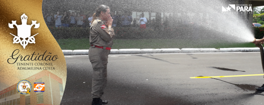 Missão cumprida: Homenagem a Tenente-Coronel Adalmilena que passa para a Reserva Remunerada