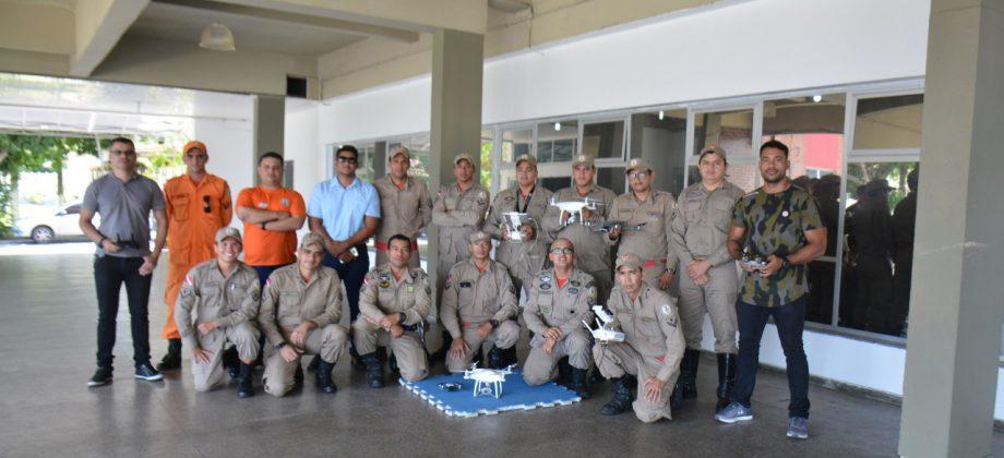 "Corpo de Bombeiros realiza o ""1° Estágio de Operador de Drones"""
