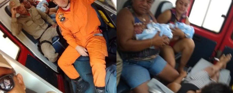 Corpo de Bombeiros faz parto prematuro de gêmeos em comunidade de Itaituba
