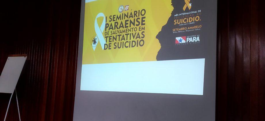 Corpo de Bombeiros realiza seminário de salvamento em tentativas de suicídio