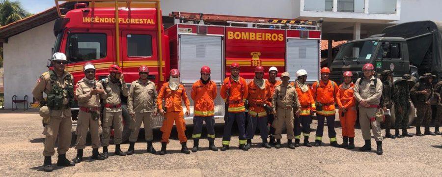 Operação Bruxa do Fogo: incêndio florestal na região de Alter do Chão