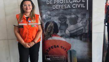 A COORDENADORIA ESTADUAL DE DEFESA CIVIL ESTEVE EM REUNIÃO NO CENTRO NACIONAL DE DESASTRE
