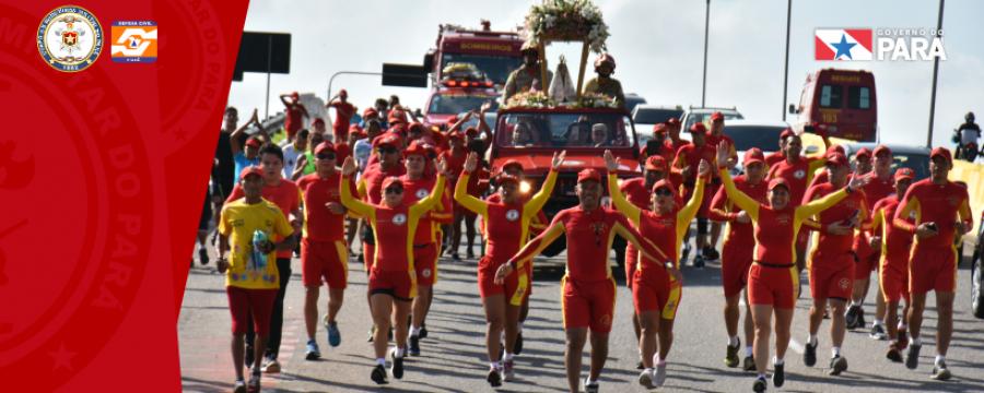 Círio dos Bombeiros une fiéis e militares em uma linda cerimônia