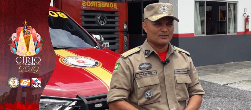 """""""Operação Círio 2019"""" corpo de bombeiros organiza ações para as Romarias"""