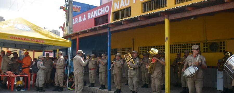 CORPO DE BOMBEIROS ATUA EM AÇÃO DE IMPLANTAÇÃO DO TERPAZ NO BAIRRO JURUNAS