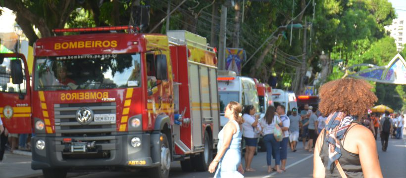 Corpo de Bombeiros FAZ PREVENÇÃO NAS ROMARIAS DO FIM DE SEMANA EM BELÉM
