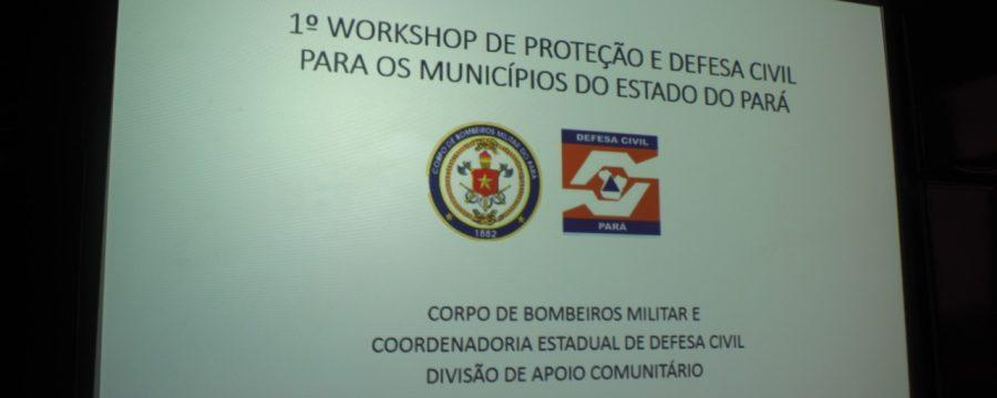Programação: I Workshop de Defesa Civil do Estado capacitará municípios paraenses