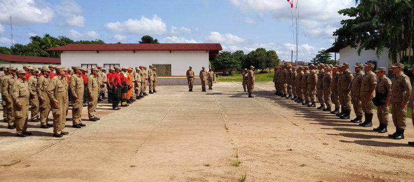 Estado Maior Geral realiza visita institucional ao complexo Bombeiro Militar de Ananindeua