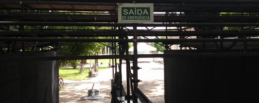 Arquibancadas seguras para receber fiéis no Círio de Nazaré 2019