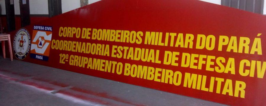 Corpo de Bombeiros faz inauguração da nova fachada do quartel de Santa Izabel do Pará