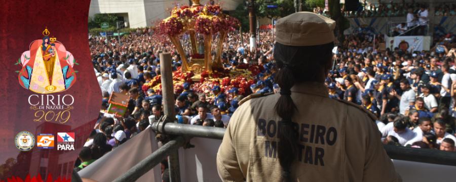 CÍRIO 2019: CBMPA FAZ PREVENÇÃO NA ROMARIA DESTE DOMINGO
