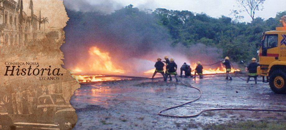 Simulado de incêndio EABA 2000 na SCI/Infraero/Belém