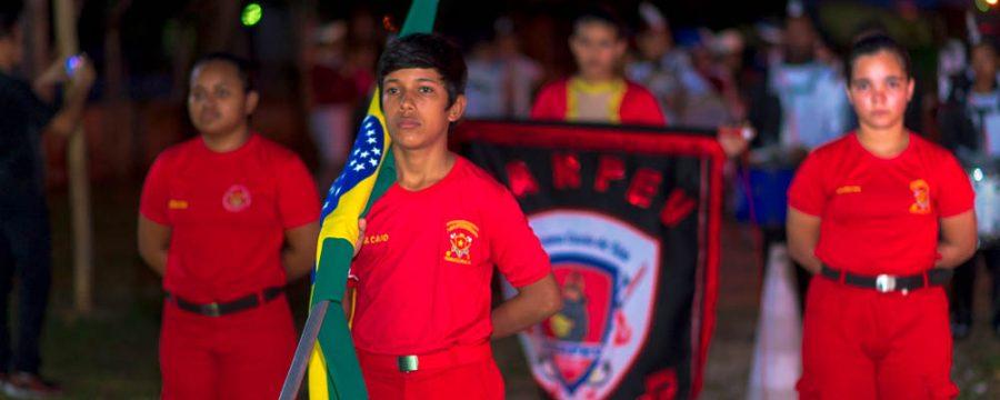 Banda de Fanfarra do Programa Escola da Vida é orgulho para Santa Izabel
