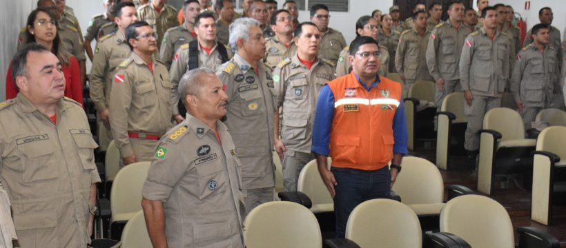 ESTADO MAIOR GERAL DO CORPO DE BOMBEIROS MILITAR, FINALIZA COM EXCELÊNCIA 1º SEMINÁRIO CORREICIONAL