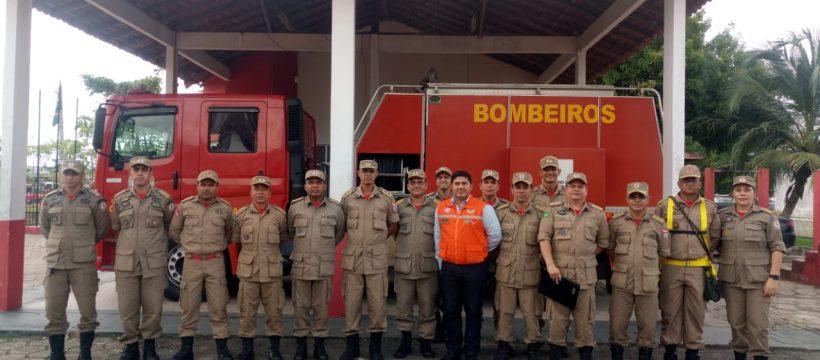 ESTADO MAIOR GERAL REALIZA VISITA INSTITUCIONAL AO Instituto de Ensino de Segurança do Pará – Iesp